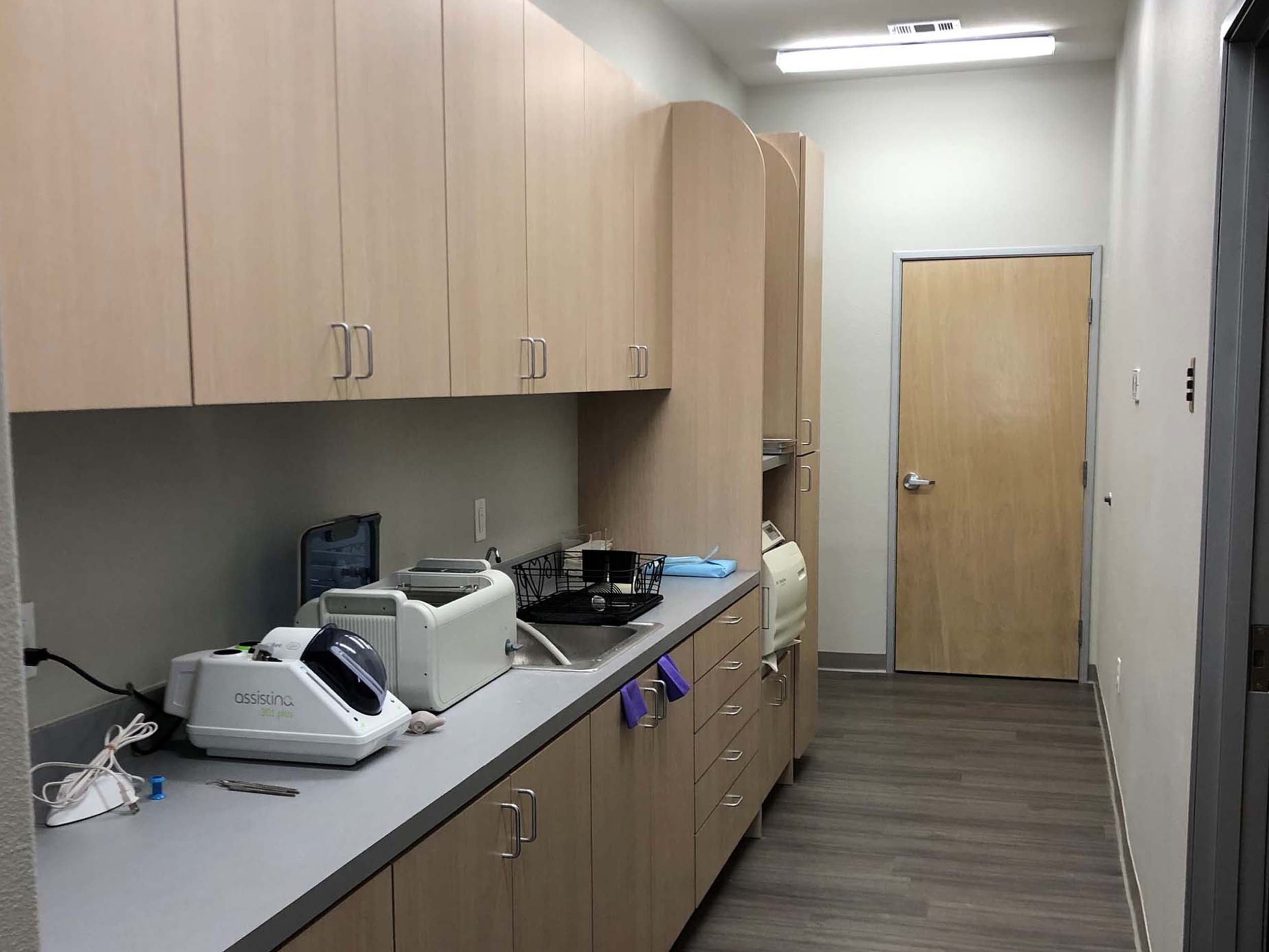 Heath Pediatric Sterilization Room